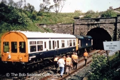 District Engineer's Inspection Saloon TODM999501 at Shotlock Tunnel South Portal