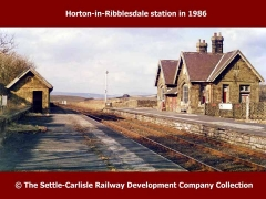 Horton Railway Station: Context view from the south (1986)
