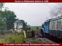 Horton Signal Box: Context view from the north (1980)