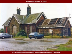 Ribbhead Main Station Building: North elevation view (1993)