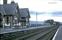 242580:Horton-in-Ribblesdale Station Main Building:Elevation view from the north