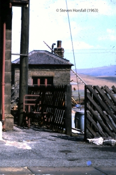 247200: Ribblehead Station - Yard Office: Elevation view from the west