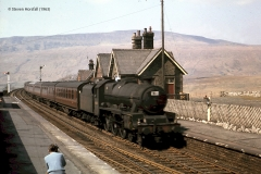 247240: Ribblehead Station Main Building: Elevation view from the south west