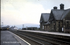 253380:Dent Station-Main Building & Booking Office:Context view from north east