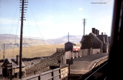 Kirkby Stephen Station Yard Office and Booking Office: Context from the north