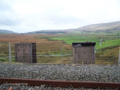 247920: Fog Hut NW of Ribblehead Viaduct (B):Elevation view from the east