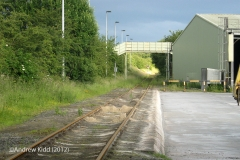 281980: Kirkby Thore - Mc Ghie's Siding: Context view from the south