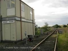 Kirkby Thore Signal Box: Southern elevation view (2)