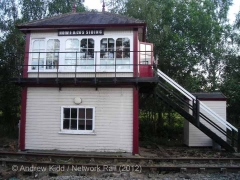 Howe & Co's Siding Signal Box: Eastern elevation view