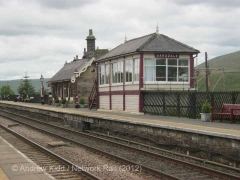 Garsdale Signal Box: Eastern elevation view