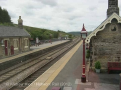 Garsdale Signal Box: Context view to the south
