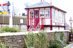 236390 Settle Station Signal Box from 1997 : Elevation view from the north west