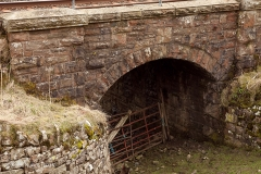 261840: Bridge SAC/145 - Ghyll: Detail view from the north west