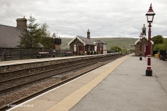 256630: Garsdale Station - Passenger Platform: Context view from the south westh