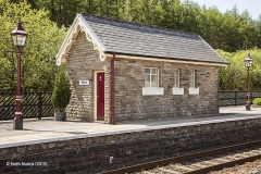 Garsdale Station Toilet Block: Elevation view from west