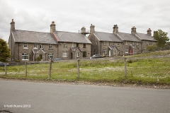 256560: Garsdale - Workers' Housing: Context view from the south