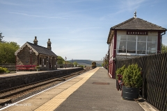 256660:Garsdale Station-Southern bld (Up -Island):Context view from north west