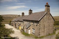 256560: Garsdale - Workers' Housing: Context view from the east