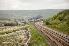 256560: Garsdale - Workers' Housing: Context view from the south west
