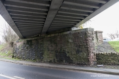 288330: Bridge SAC/288 - A686 Alston Road: Detail view from the north