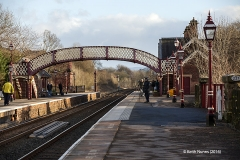 277300: Appleby Station - Passenger Platform (Down): Context view from the north