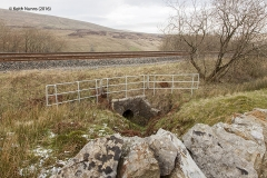 "255040: Culvert (3' 0"" diameter): Context view from the south east"