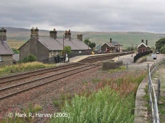 Garsdale Railway Station and Hawes Junction from the southwest