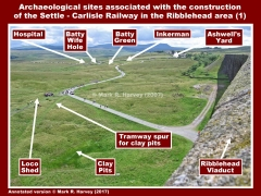 Archaeological sites in the Ribblehead area (SCR-1)