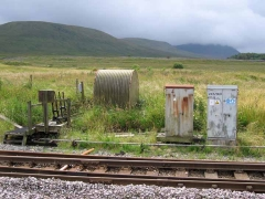 Ribblehead Quarry Siding Ground Frame: Context view from the north-east