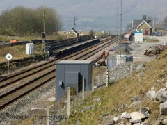 Ribblehead Station Booking Office: Context view from the east