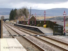 Ribblehead Station Barrow Crossing: Context view from the north-west