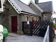 Ribblehead Station Booking Office: Western elevation view (1)