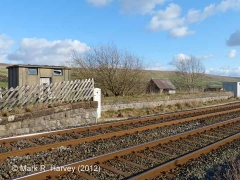 Horton Station Yard Office: Context view from the north-west