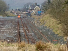 Ribblehead Quarry Siding: Context view from the south-east (3)