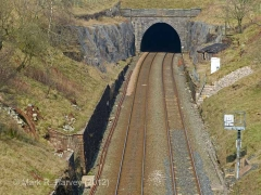 Blea Moor Tunnel South Portal: Context view from the south (3).