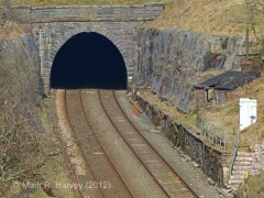 Blea Moor Tunnel South Portal: Context view from the south (4).