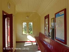 Langwathby Station Waiting Room (Up): Interior view