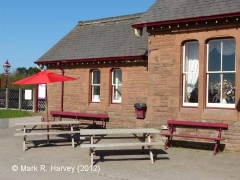 Langwathby Station Booking Office: South elevation view (2)