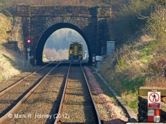 Lazonby Tunnel North Portal (SAC/305): Context view from the north-west (3)