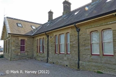 Kirkby Stephen Station Booking Office, viewed from the northeast