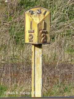 Milepost 231½: Southwest elevation""