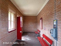 Lazonby & Kirkoswald Waiting Room (Down): Interior (north-west end)