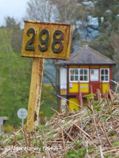 Milepost 298: Context view from the south-west