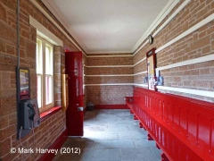 Armathwaite Station Waiting Room: Interior view (looking north-east)