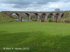 Bridge SAC/301 (Long Meg Viaduct): East elevation view