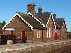 Lazonby & Kirkoswald Booking Office: South-east elevation view