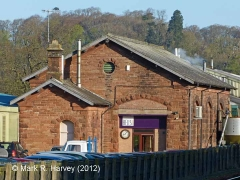Lazonby & Kirkoswald Goods Shed: South-east elevation view