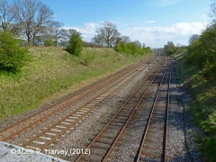 Settle Junction: Context view from the North (1)