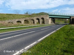 Bridge SAC/2 - A65 road: Western elevation view (1)