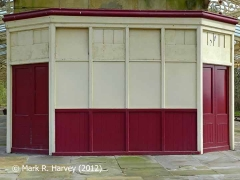 Hellifield Station News Kiosk / Bookstall (W.H. Smith's), Northwest elevation